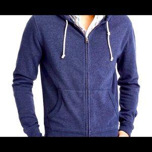 J.crew full zip up hoodie